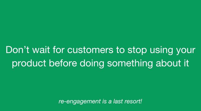 User Adoption Strategies - Reaction vs Re-engagement