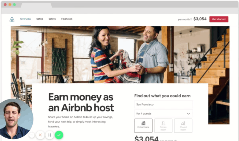 Airbnb new user onboarding