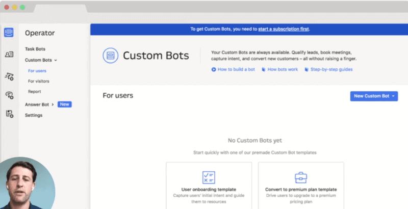 Intercom Custom Bots