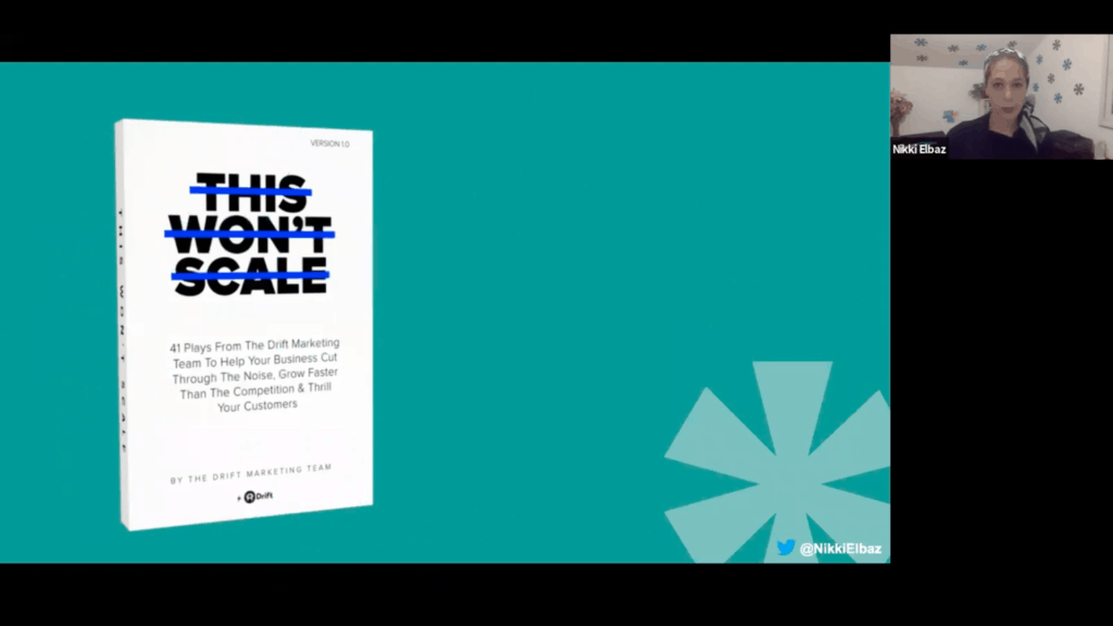 """""""This Won't Scale"""" book cover - a must read to boost product signups"""