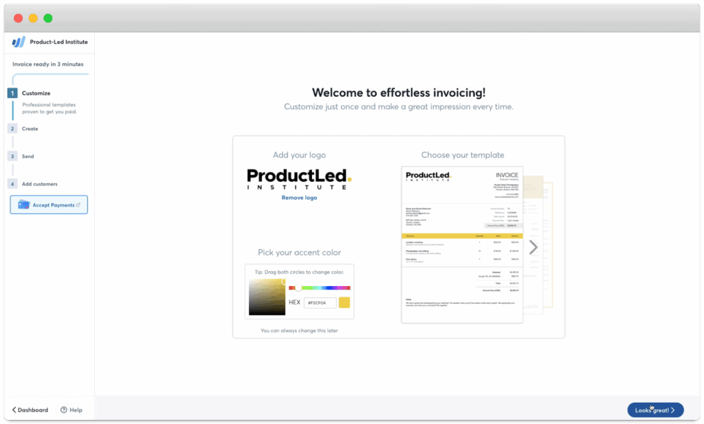wave personalized user onboarding experience