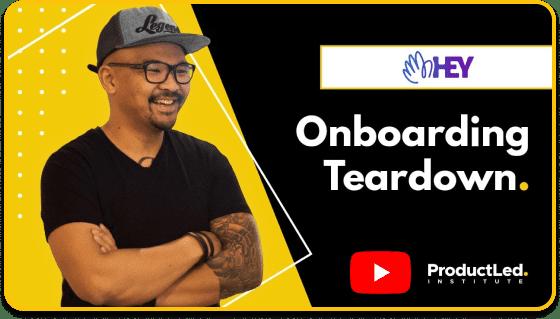 Onboarding Teardown